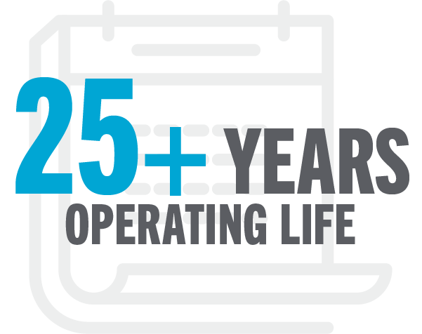 Ess benefit icon - 25+ years