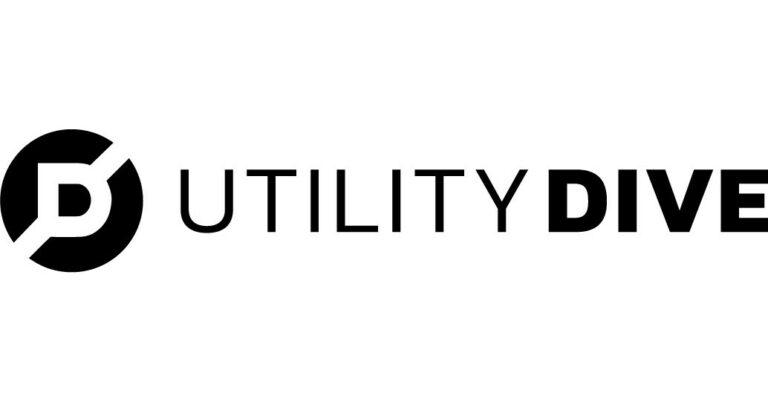 Utility dive logo